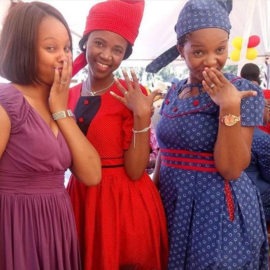 Shweshwe Traditional Wear