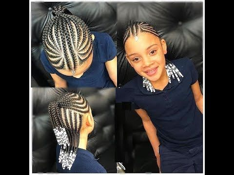 top nigerian kids hairstyles for school 2020  isishweshwe